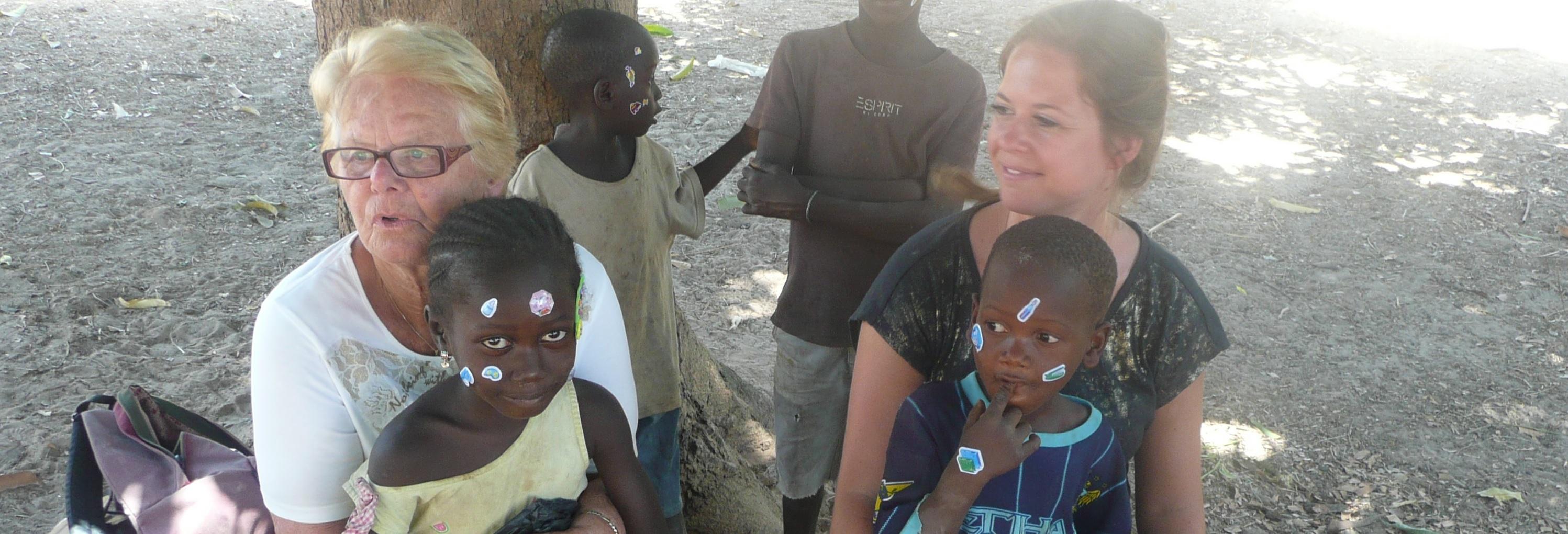 Vrijwilligers project sociaal Gambia Afrika Kinderen