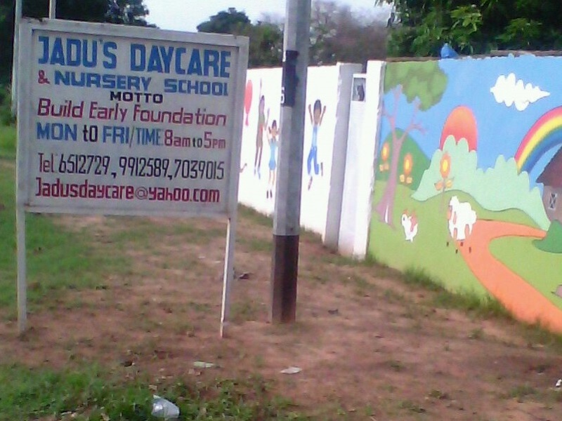 Jadu's nursery school